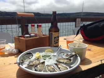 Tomales Bay oysters at The Marshal Store