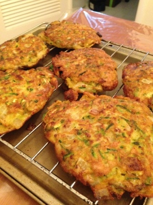 Potato and Chives cakes